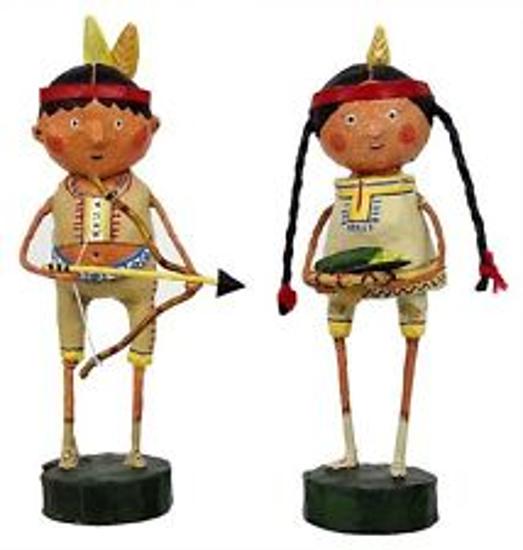 Indian Guide & Princess by Lori Mitchell
