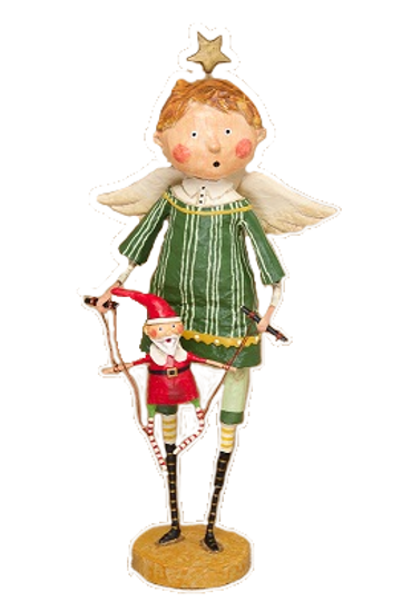 Christmas Puppeteer Angel by Lori Mitchell