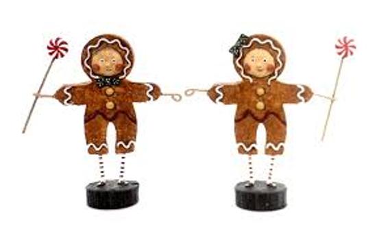Gingerbread Boy & Girl by Lori Mitchell