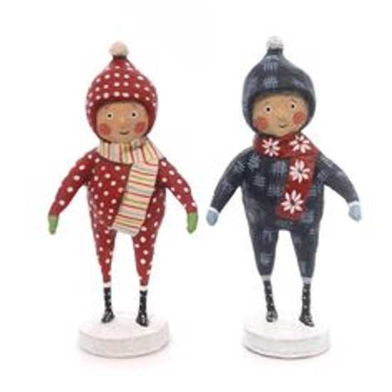 Snow Day Duo by Lori Mitchell