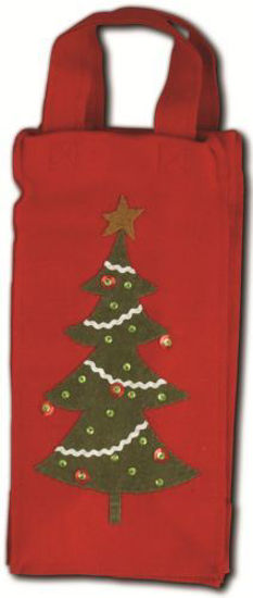 Retro Tree Red Wine Bag by Bethany Lowe Designs