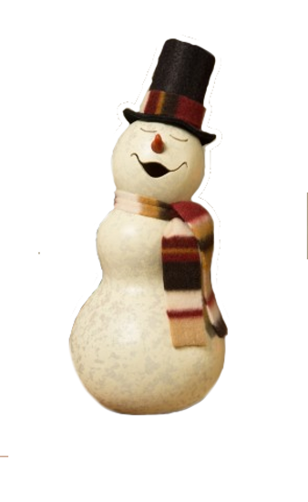 Blizzard Snowman Small Boy by Meadowbrooke Gourds