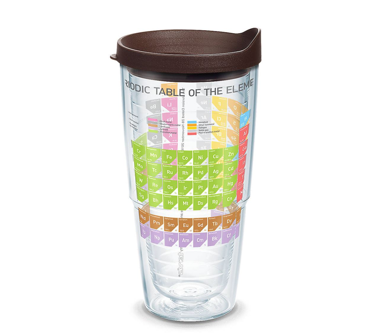 Periodic Table Of Elements Wrap 24oz by Tervis