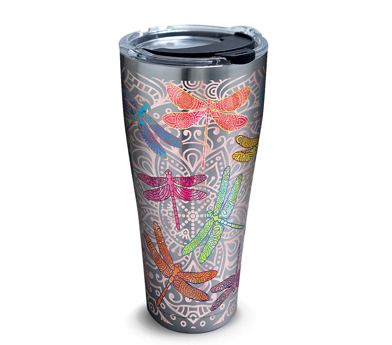Dragonfly Mandala 30oz. Stainless Steel Tumbler by Tervis