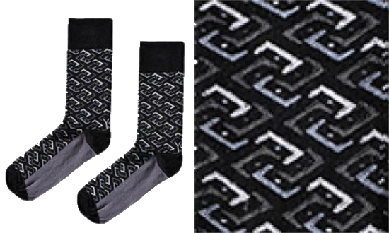 Black Knight, Men's Crew Sock, by Yo Sox
