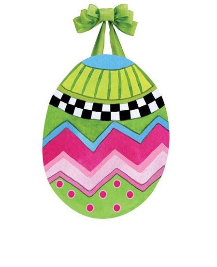Egg Toss Door Decor by Studio M