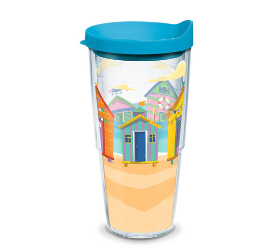 Bright Cabanas Wrap 24oz. Tumbler by Tervis