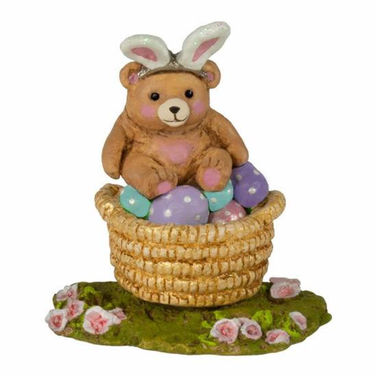 Bunny Bear Basket A-48 by Wee Forest Folk