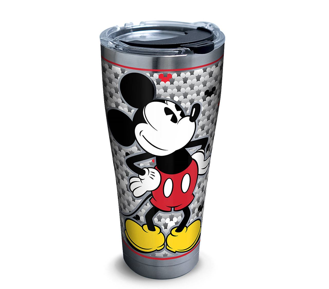 Disney - Mickey Mouse Silver 30oz. Stainless Steel Tumbler by Tervis