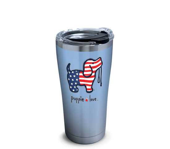 Puppie Love- USA Pup 20oz. Stainless Steel Tumbler by Tervis