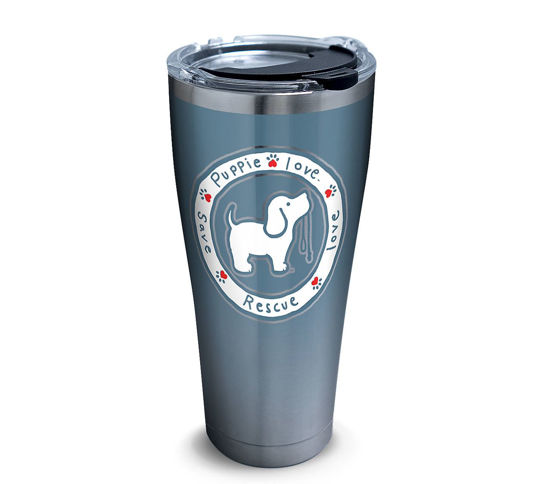 Puppie Love - Blue Pup 30oz. Stainless Steel Tumbler by Tervis