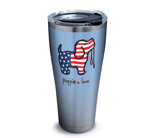 Puppie Love - USA Pup 30oz. Stainless Steel Tumbler by Tervis