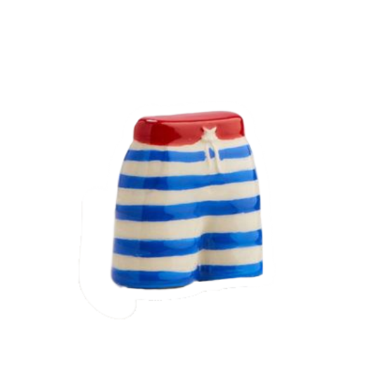 Jump In! (Swim Trunks) Mini by Nora Fleming