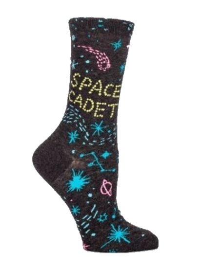 Space Cadet Women's Crew Socks by Blue Q