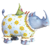 Roberta Rhino by Patience Brewster