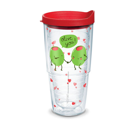 Snorg Tees - Olive You 24oz. Tumbler by Tervis