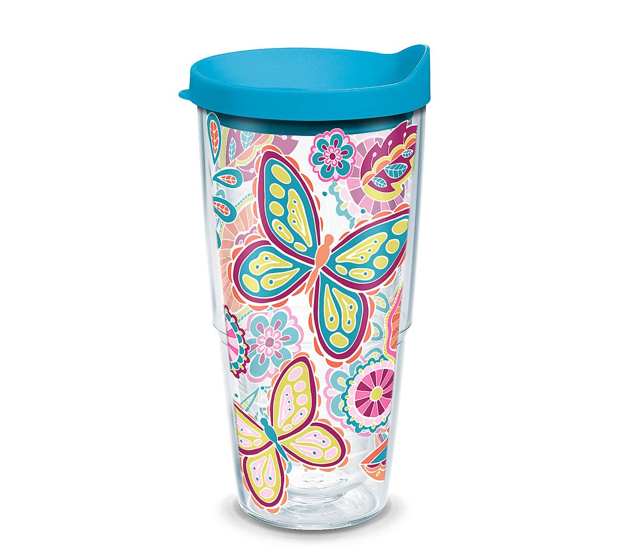 Floral Butterfly 24oz Tumbler by Tervis