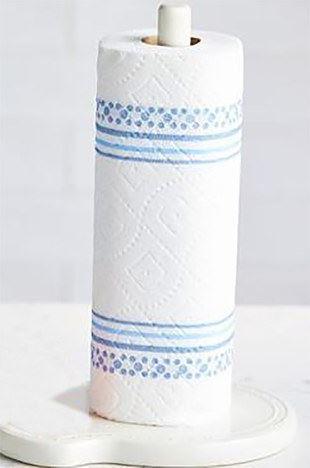 Melamine Paper Towel Holder by Nora Fleming
