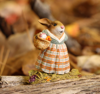 Mrs. Harvest Bunny B-19by Wee Forest Folk