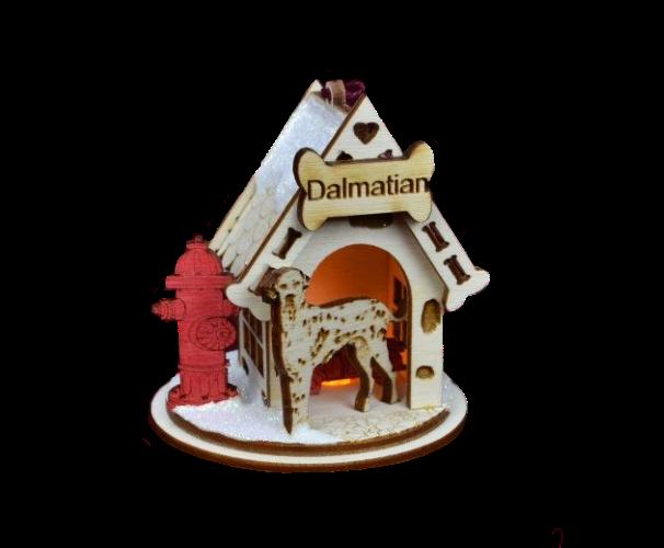 Dalmatian K-9 Cottage by Ginger Cottages
