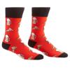 Pizza & Beer Men's Crew Socks by Yo Sox