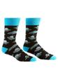 UFO Men's Crew Socks by Yo Sox