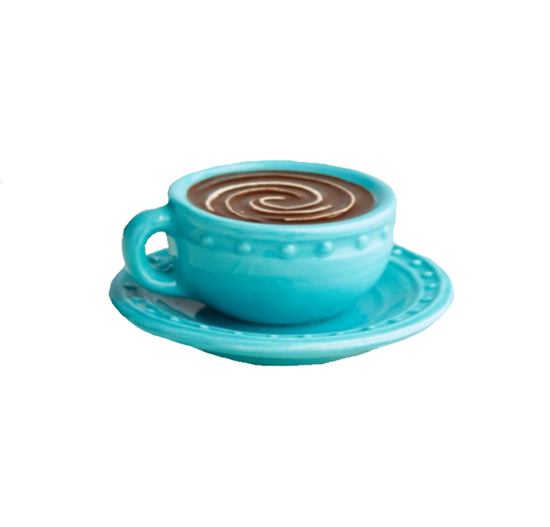Warm Me Up (Coffee Cup) Mini by Nora Fleming