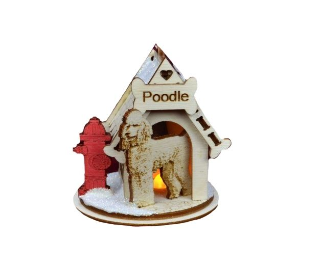 Poodle K-9 Cottage by Ginger Cottages