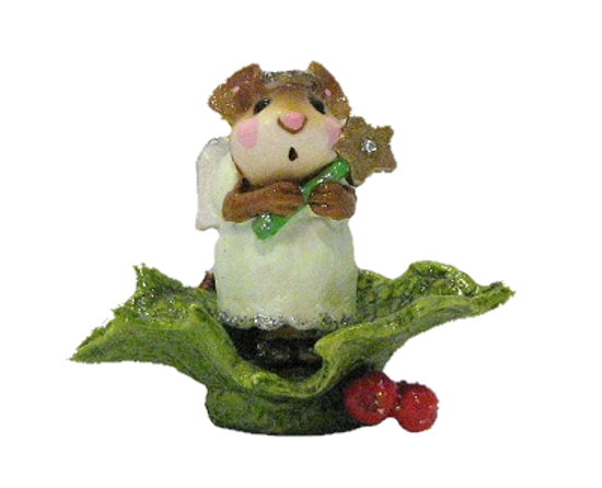 Little Holly Angel M-230 Green by Wee Forest Folk®