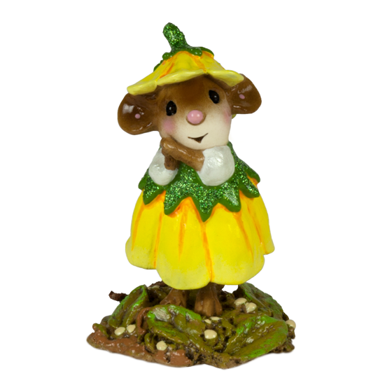 March Flower Mouse of the Month M-640c by Wee Forest Folk