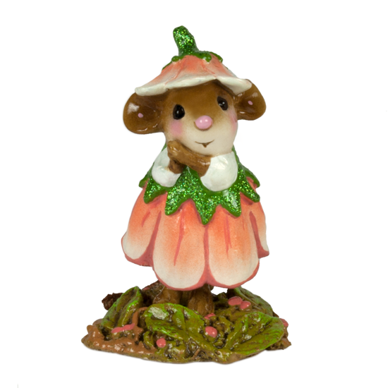 August Flower Mouse of the Month M-640h by Wee Forest Folk