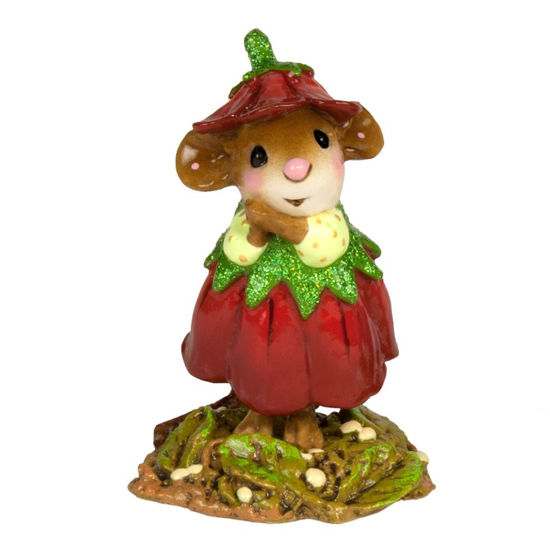 December Flower Mouse of the Month M-640L by Wee Forest Folk