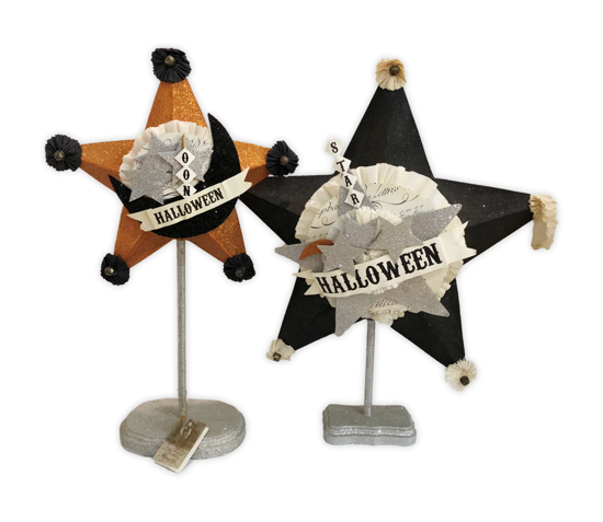 Star Display Set (AS IS) by Bethany Lowe Designs