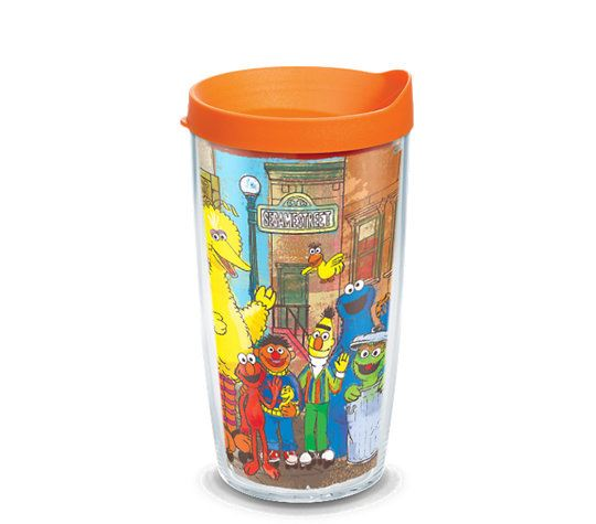 Sesame Street® - Original Group Wrap 16oz. Tumbler by Tervis