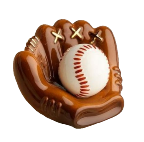 Catch Some Fun (Baseball Mitt) Mini by Nora Fleming