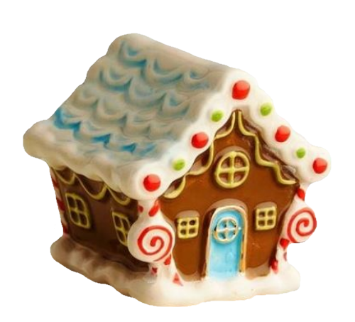 Candyland Lane (Gingerbread House) Mini by Nora Fleming