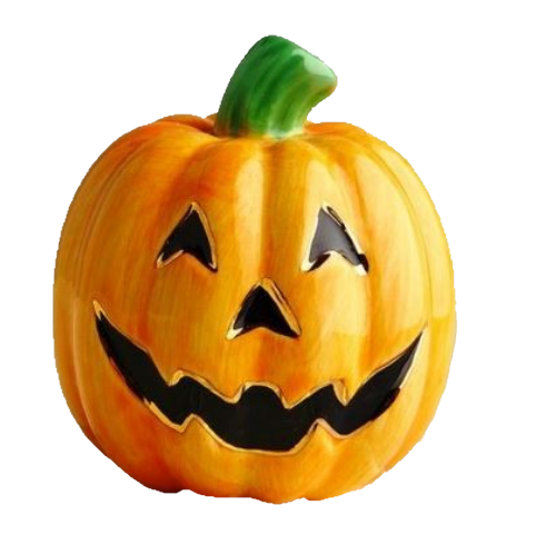 Carved Cutie (Jack O' Lantern) Mini by Nora Fleming