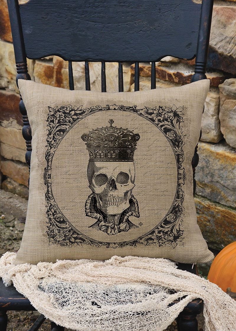 Curiosities Hers Pillow by Heritage Lace