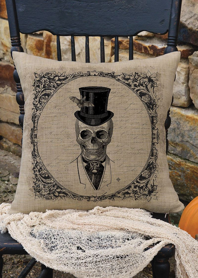 Curiosities His Pillow by Heritage Lace