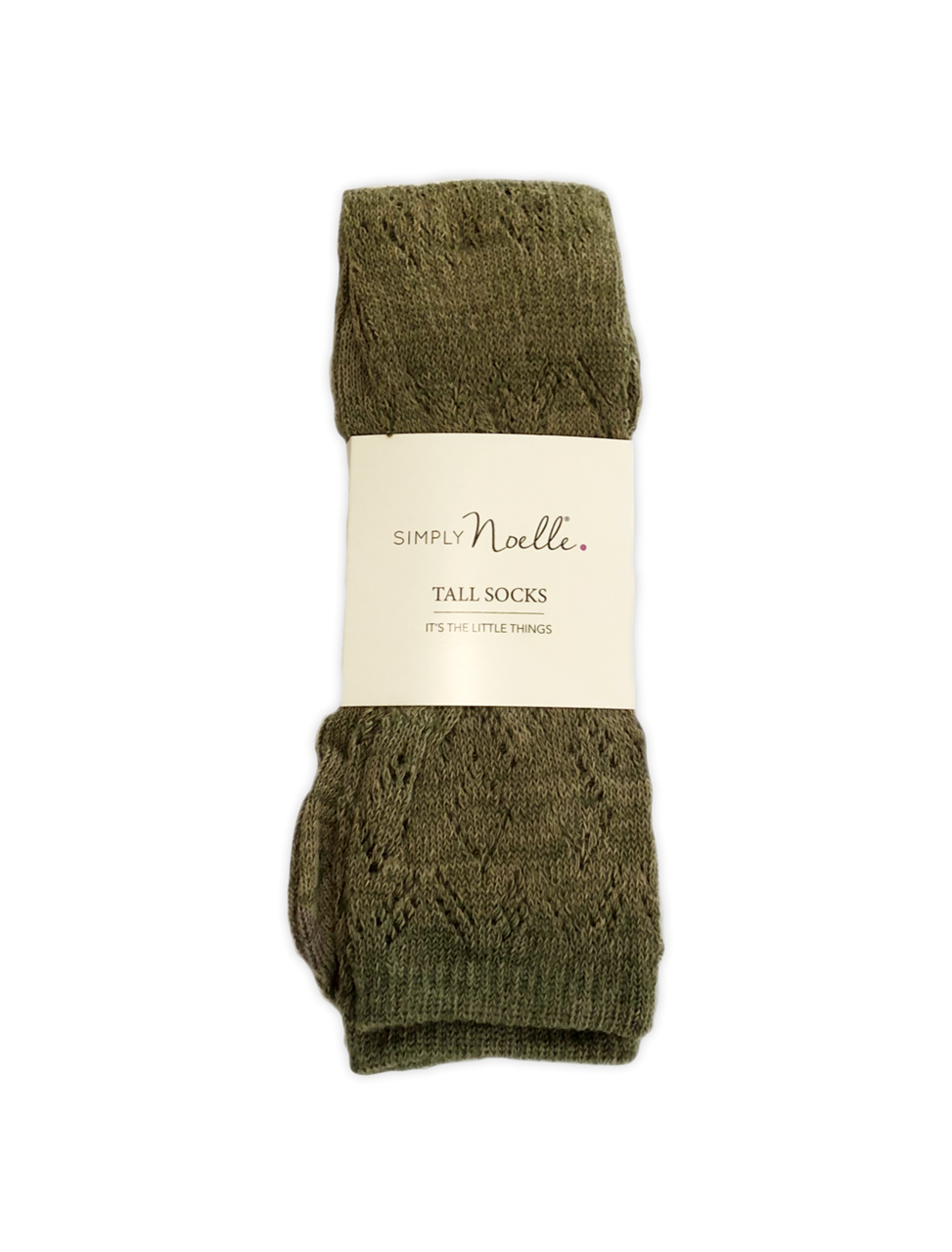 Weave It To Me Tall Socks (Sage) by Simply Noelle