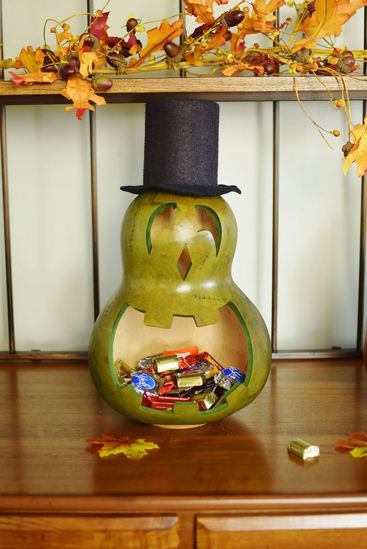 Monster Ben Candy Dish Large by Meadowbrooke Gourds