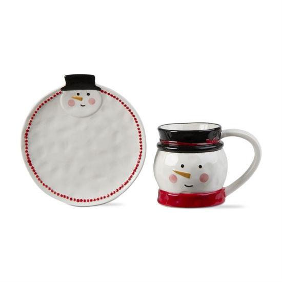 Jolly Snowman Mug & Plate Set of 2 by TAG