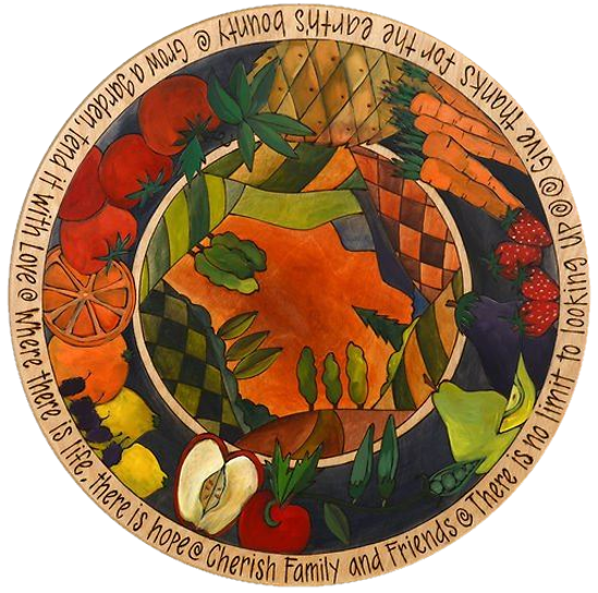 Give Thanks Lazy Susan by Sticks