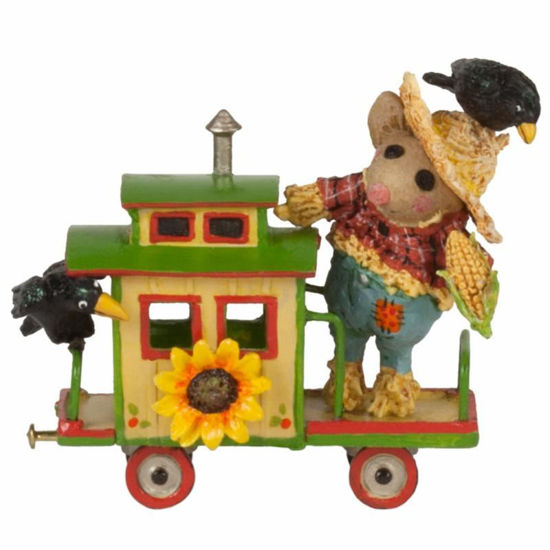 Crow Caboose M-453o by Wee Forest Folk