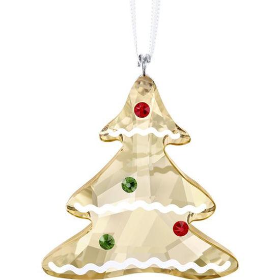 Gingerbread Tree Ornament by Swarovski