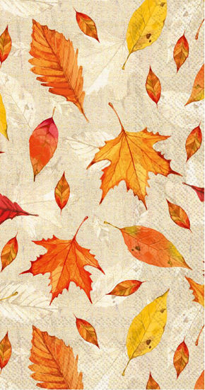 Feuilles D'Automne Guest Towel by Boston International