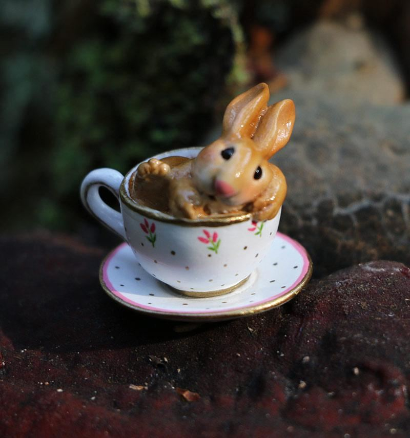 Cuppa Cottontail B-28 by Wee Forest Folk