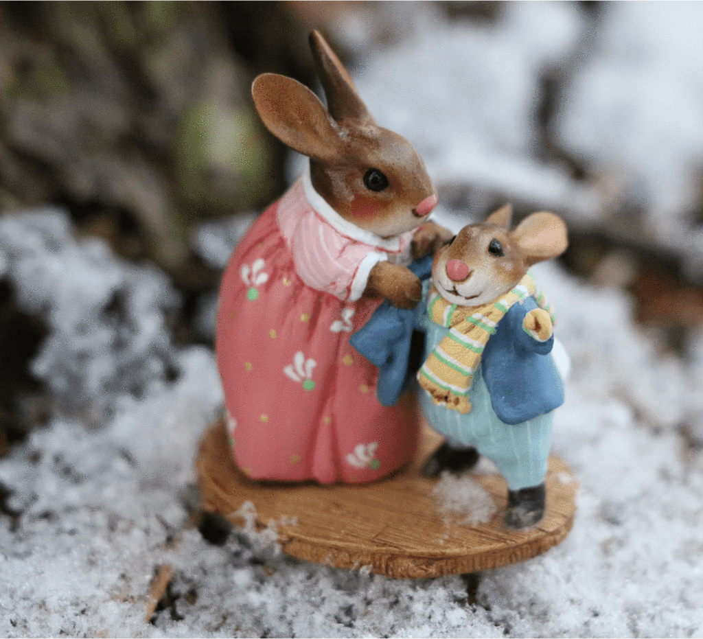 Bundle Up Bunny B-26 By Wee Forest Folk®