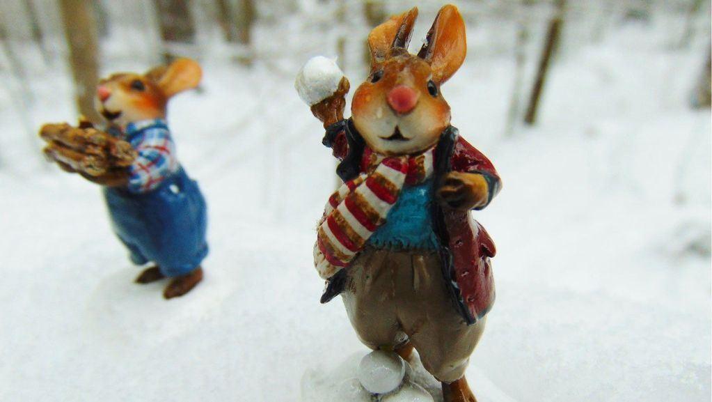 Bunny Barrage! B-22 by Wee Forest Folk
