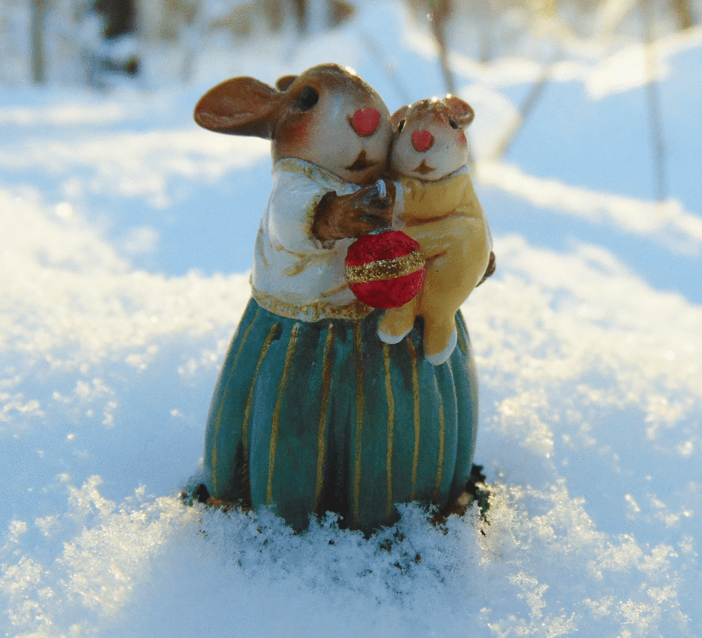 Baby Bunny's First Christmas B-21 Yellow By Wee Forest Folk®